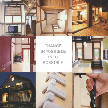 CHANGE IMPOSSIBLE INTO POSSIBLE